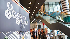 Roll-Up des City Car Summit 2017