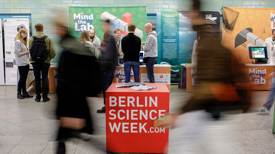 Personen auf Berlin Science week